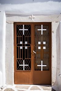 Door in Parikia, Paros
