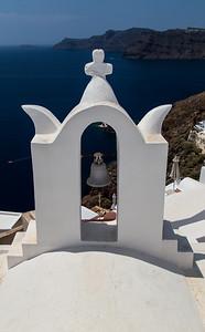 Church with a view, Santorini