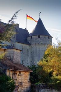 Château de la Motte d'Usseau, France