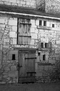 Weatherworn old silo