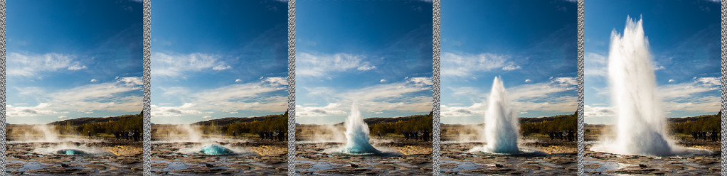 Strokkur - a fountain geyser, #7