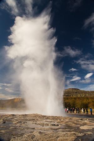 Strokkur - a fountain geyser, #1
