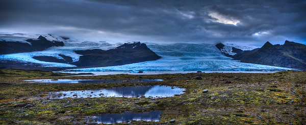 Fjallsárlón glacier lagoon, #1