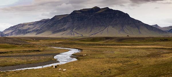 Iceland landscape, #2