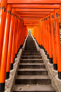 Staircase to Hie Shrine, Tokyo
