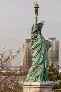 Statue of Liberty, Japan