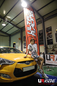 Model Lee Eun Seo Hyundai Veloster@Korea