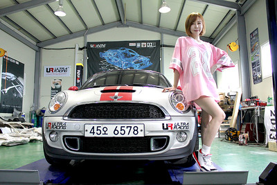 Sponsored Korea Female Driver