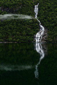 Geirangerfjord waterfall, #2