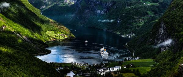Geirangerfjord view, #3