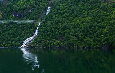 Geirangerfjord waterfall, #3