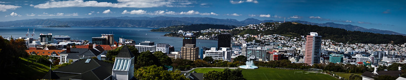 Wellington panorama, New Zealand