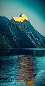 Milford Sound sunrise, New Zealand