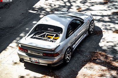 Toyota MR2 With Ultra Racing Bar