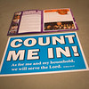 Count Me In sign