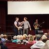 Laguna Woods, worship, Sean, sayaing goodbye, Pastor Rick Bradford,