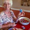 Saddleback Laguna Woods; Laguna Woods; TEM, Volunteer making Eggs, Hospitality,