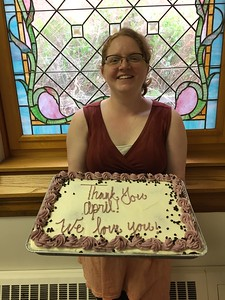 April Greibrok Thank you Cake