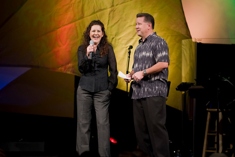 <center>Stephanie Schwartz & Mike Fabarez</center>