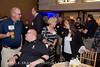 Following a hard day's cycling, the Wounded Warriors Project hosts a reception and a dinner at the Sheraton Pentagon City in Arlington, VA on Wednesday, April 25, 2018.  (James R. Brantley)