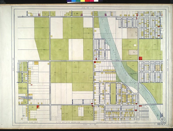 WPA Land use survey map for the City of Los Angeles, book 4 (Van Nuys District to Garvanza District), sheet 6
