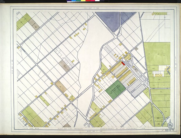 WPA Land use survey map for the City of Los Angeles, book 2 (Tujunga), sheet 15