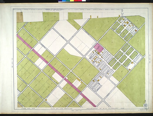WPA Land use survey map for the City of Los Angeles, book 1 (North Los Angeles District), sheet 6