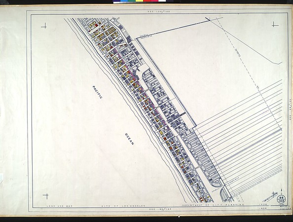 WPA Land use survey map for the City of Los Angeles, book 9 (Pacific Palisades Area to Mines Field (Municipal Airport)), sheet 24