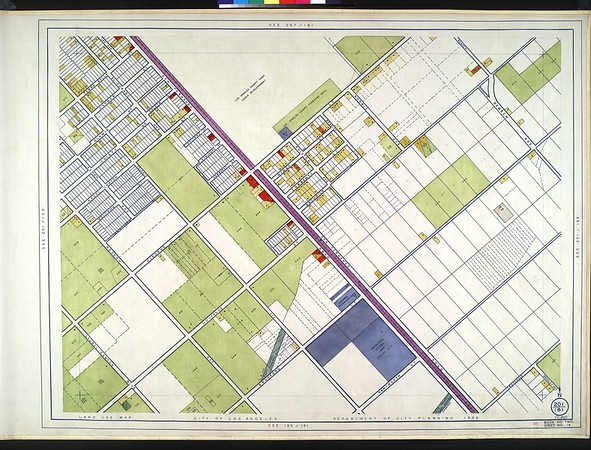 WPA Land use survey map for the City of Los Angeles, book 2 (Tujunga), sheet 14