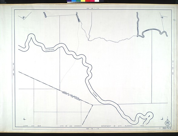 WPA Land use survey map for the City of Los Angeles, book 5 (Santa Monica Mountains from Girard to Van Nuys District), sheet 20