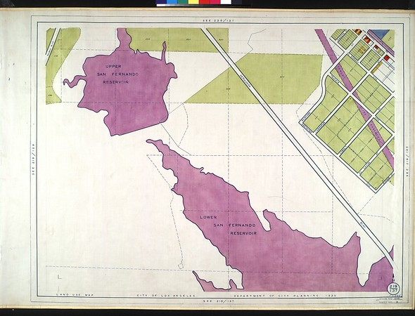 WPA Land use survey map for the City of Los Angeles, book 1 (North Los Angeles District), sheet 9