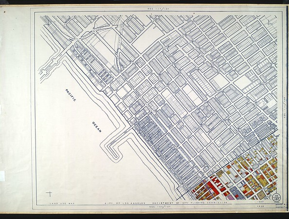 WPA Land use survey map for the City of Los Angeles, book 9 (Pacific Palisades Area to Mines Field (Municipal Airport)), sheet 14