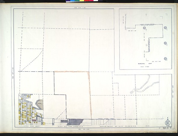 WPA Land use survey map for the City of Los Angeles, book 2 (Tujunga), sheet 13
