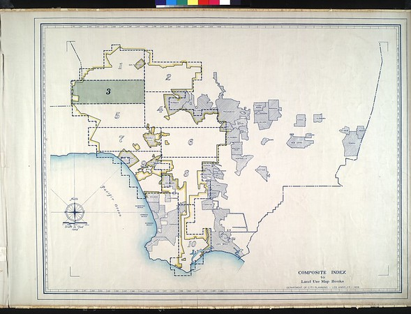WPA Land use survey map for the City of Los Angeles, book 3 (San Fernando Valley from Canoga Park District to Van Nuys District), sheet 24