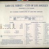 WPA Land use survey map for the City of Los Angeles, book 7 (Topanga Canyon to Hollywood District), sheet 13