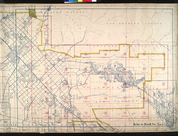 WPA Land use survey map for the City of Los Angeles, book 2 (Tujunga), sheet 22