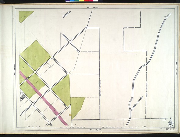 WPA Land use survey map for the City of Los Angeles, book 2 (Tujunga), sheet 2