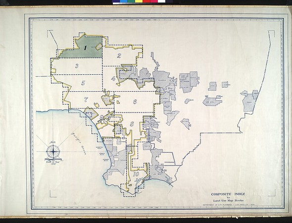 WPA Land use survey map for the City of Los Angeles, book 1 (North Los Angeles District), sheet 4