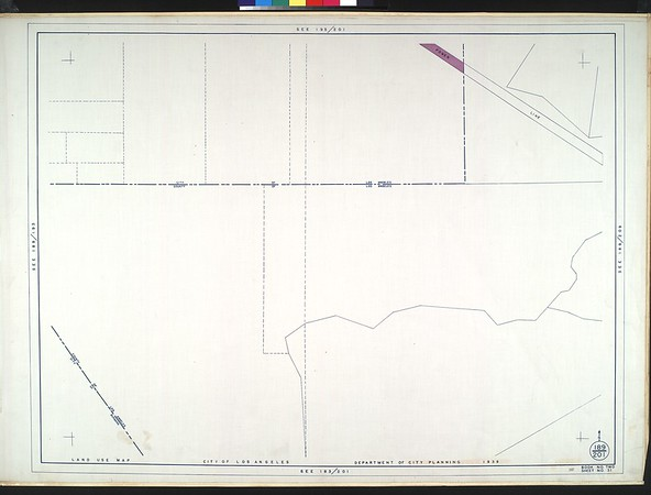 WPA Land use survey map for the City of Los Angeles, book 2 (Tujunga), sheet 31