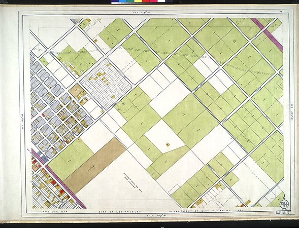 WPA Land use survey map for the City of Los Angeles, book 2 (Tujunga), sheet 8
