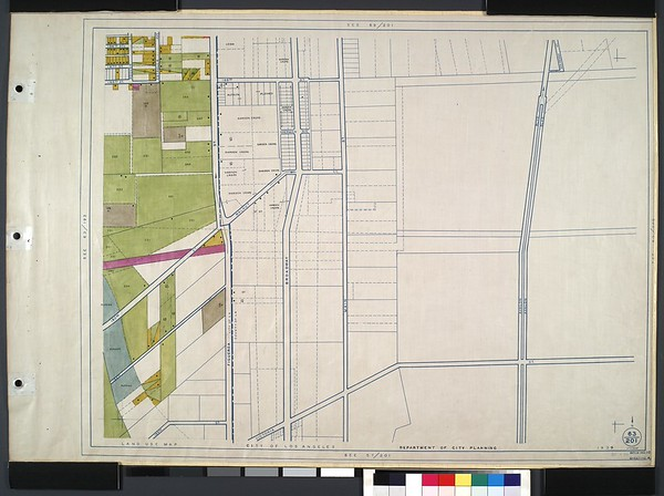 WPA Land use survey map for the City of Los Angeles, book 10 (Shoestring Addition to San Pedro District), sheet 4