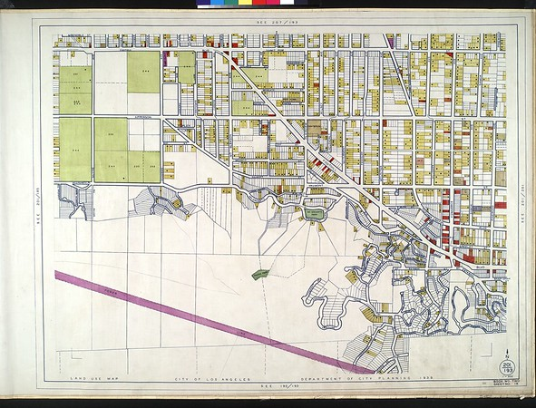 WPA Land use survey map for the City of Los Angeles, book 2 (Tujunga), sheet 18
