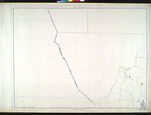 WPA Land use survey map for the City of Los Angeles, book 1 (North Los Angeles District), sheet 7