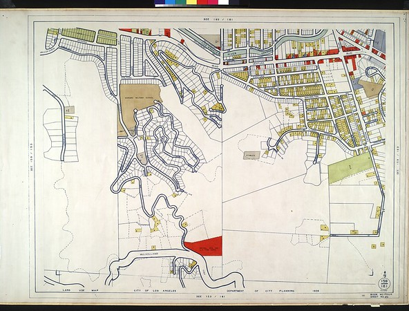 WPA Land use survey map for the City of Los Angeles, book 4 (Van Nuys District to Garvanza District), sheet 20