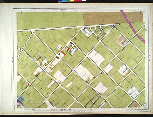 WPA Land use survey map for the City of Los Angeles, book 1 (North Los Angeles District), sheet 5