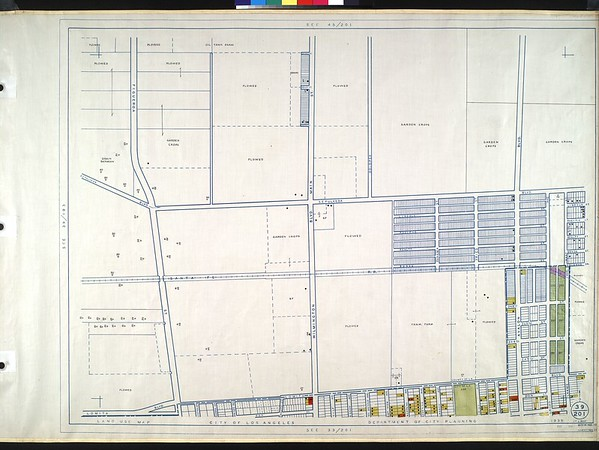 WPA Land use survey map for the City of Los Angeles, book 10 (Shoestring Addition to San Pedro District), sheet 12