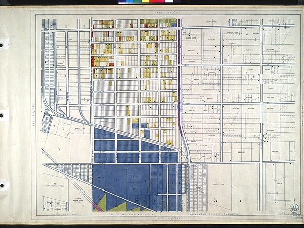 WPA Land use survey map for the City of Los Angeles, book 10 (Shoestring Addition to San Pedro District), sheet 8