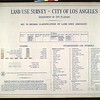 WPA Land use survey map for the City of Los Angeles, book 7 (Topanga Canyon to Hollywood District), sheet 20