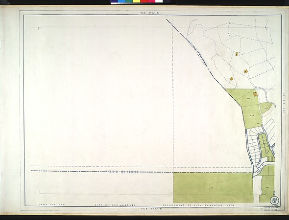 WPA Land use survey map for the City of Los Angeles, book 1 (North Los Angeles District), sheet 12