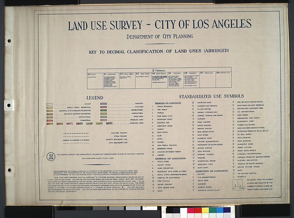 WPA Land use survey map for the City of Los Angeles, book 10 (Shoestring Addition to San Pedro District), sheet 30